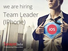 Current Opening for Team Leader (IPhone): Synapseindia currently hiring for the Team Leader in Iphone department.