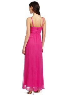 BCBGMAXAZRIA Women's Hall Long Strap Detail Gown in Light Fuchsia Bcbgmaxazria Dresses, Evening Gowns, Detail, Formal Dresses, Fashion, Evening Gowns Dresses, Dresses For Formal, Moda, Evening Dresses