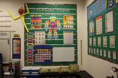 Diary of a Not So Wimpy Teacher: A sneak peak into my Sports Themed classroom!!!