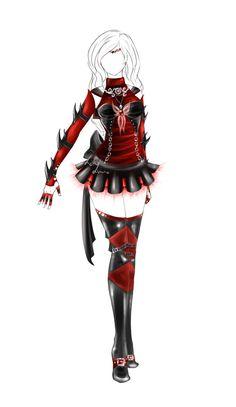 Outfit design ( senshi fuku ) - 36 - closed by LotusLumino