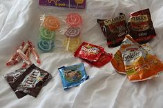 Ideas about packing snacks for Disney World.