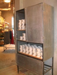 Anthropolgie Metal Cabinet