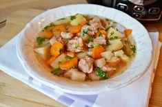 Reteta Ciorba de vitel cu legume la Crock Pot din categoriile Slow Cooking, Supe de carne