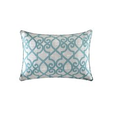 Found it at Wayfair - Barrows Printed Fretwork Outdoor Pillow