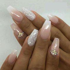 Nails babyboomer nude