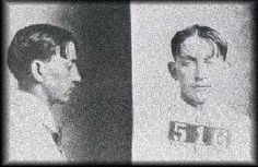 """Herman Barker. Oldest son of """"Ma"""" Barker and older brother to Doc and Freddie. He died in a shoot out with Wichita, Kansas police in 1927. After being seriously wounded in the fight, he shot himself in the head."""