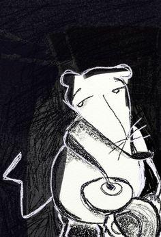 """""""El gato y el ratón hacen vida en común"""" Hermanos Grimm. (3/3)"""
