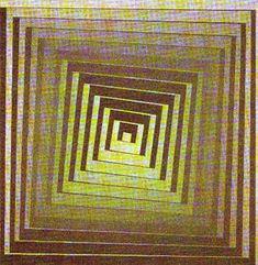 Vonal Zoeld - (Victor Vasarely)