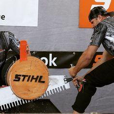 Single Buck rules!  #stihl #stihltimbersports #timbersports #winterberg…