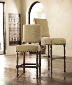 Cane Counter Stool - Home Decorators Collection (Wood You Mind? Kitchen Chairs For Sale, Stools For Kitchen Island, Parsons Dining Chairs, Design Your Kitchen, Dining Room Furniture, Furniture Ideas, Apartment Living, Living Room, Chair Upholstery