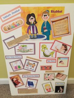 learning tool for children on the Sabbath