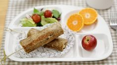 빼빼로데이를 위한 간단한 식빵요리♥넘넘 달달한 초코바나나 핫도그 만들기 [램블부부]