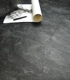 revêtement de sol PVC adhésive-clipsable-dalles-vinyle-ardoise-naturelle
