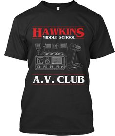 Discover Limited Edition T-Shirt, a custom product made just for you by Teespring. - Hawkins Middle School A. Stranger Things Shirt, Thing 1, Graphic Shirts, Give It To Me, Casual Outfits, My Style, Middle School, Apparel Company, Mens Tops