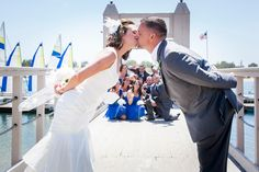 We love fun photo ops!  | Photo by Blue Spot Photography