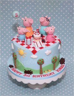 Original idea para aperitivo de una fiesta temática de Peppa Pig. #Peppapig #party