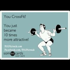 CrossFit attractive