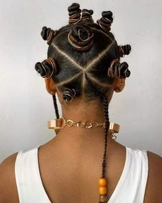Braided Hairstyles For Black Women, Natural Hair Styles For Black Women, Simple Hairstyles, Protective Hairstyles For Natural Hair, Summer Hairstyles, Cute Natural Hairstyles, Halloween Hairstyles, School Hairstyles, Black Hairstyles
