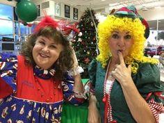 San Tan Ford, 1 Elf & 1 Holiday Dress Clowns, Holiday Dresses, Elf, Ford, Style, Fashion, Xmas Dresses, Swag, Moda