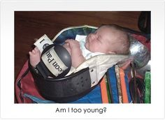 Never too young!