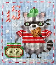 Free Pattern, Looking for your next project? You're going to love  BBP Advent Animal #15 Rascal Raccoon by designer Brooke Nolan. - via @Craftsy