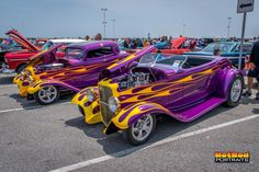 His and hers hot rods