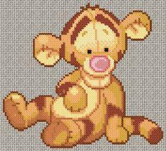 baby tigger stitch pattern