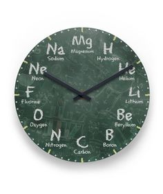 I do freaking want this shit hanging on my wall all things science elements clock 2995 urtaz Choice Image