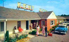 Kent Motel - Stevensville, Maryland.