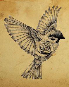 Fresh WTFDotworkTattoo Find Fresh from the Web Swallow #tattoo #tattoo #ink…