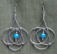 Classic Celtic 'Endless Circle' Earrings