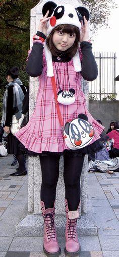 """""""Kawaii"""" street fashion Tokyo, Japan"""