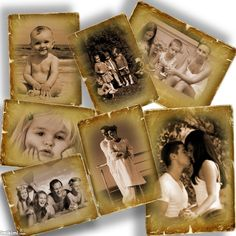 old family photos collage. Click to add your own photos. It's free and fun to use Imikimi
