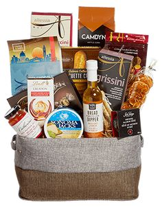 Order the Kensington gift basket from Nutcracker Sweet to impress your gift recipients.