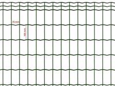 Siatka zgrzewana zielona 100x75mm/0,60m - rolka 10m