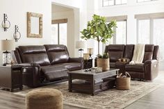 Amazing offer on Wyline Coffee Color Faux Leather Power Reclining Sofa Loveseat Power Adjust Headrest online - Theeasytopbuy Power Reclining Loveseat, Futon Sofa Bed, Recliner, Furniture Layout, Vintage Furniture, Living Room Furniture, Wooden Furniture, Leather Sofa And Loveseat, Modern Side Table