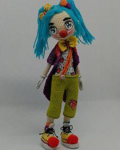 #Engrydolls #amigurumi #clown #circo #crochet #dolls #muñecas #monecas #payasos #juguetes #toys #xoguetes #handmade #hechoamano #feitoaman #artesaniagallega