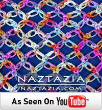 Solomon's knot crochet video from Naztazia
