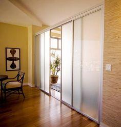 Sliding Door Company- Temporary Wall