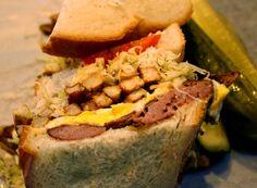 Pennsylvania - Primanti Brothers The Kielbasa and Cheese Sandwich