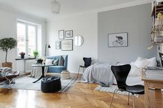 Your studio apartment feels smaller than a walk-in closet. Here's how you can use furniture and decor to optimize your square footage.