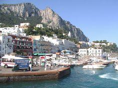 Wallpaper HD Capri Italy For Desktop Free Download