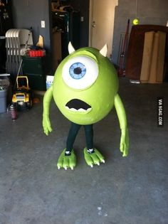 Monsters inc. Mike wasouski costume