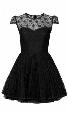 Jones + Jones // Davina Black Dress.