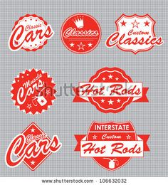 Google Image Result for http://image.shutterstock.com/display_pic_with_logo/1003733/106632032/stock-vector-classic-car-label-vector-set-106632032.jpg