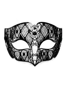 Les masques de largile noire pour la personne