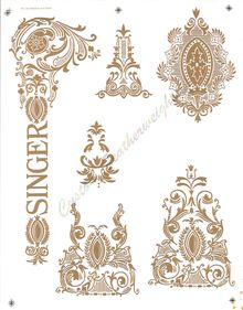 Decals for Singer 66 Red Eye Restoration Treadle Sewing Machines, Antique Sewing Machines, Sewing Art, Sewing Rooms, Sewing Ideas, Sewing Tattoos, Gold Embroidery, Mini, Restoration