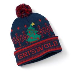 """National Lampoon's Christmas Vacation """"Griswold"""" Pom Beanie - Men $13.99"""