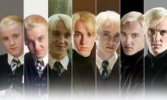 Evolution of Draco Malfoy