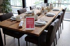 Yksi Pohjanmaan uutuuksista löytyy Asuntomessukohteen 9 keittiöstä: rouhean tyylikkäät Lankku-ruokapöytä ja Kuura-tuolit. Mitä pidät, sopisivatko nämä sinun keittiöösi? 🍽 #pohjanmaan #pohjanmaankaluste #asuntomessut2017